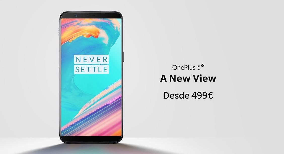 El nuevo OnePlus 5T ya es oficial y partida de