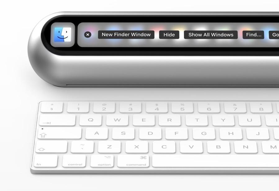 Así podría ser el nuevo Mac Mini de Apple con la pantalla Touch Bar de los MacBook Pro