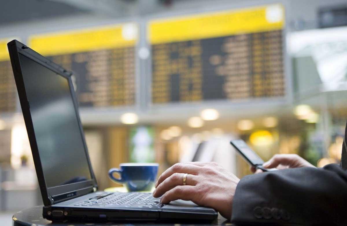 wi-fi aeropuertos