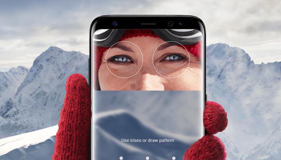 Samsung hará más rápido y cómodo el escáner de Iris del Galaxy S9