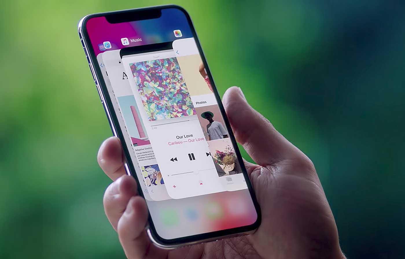 Qualcomm asegura que los gestos de interfaz de la multitarea del iPhone X violan las patentes del sistema webOS que son de su propiedad