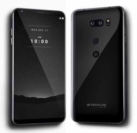 LG presenta el LG V30 Signature para los que buscan lujo y exclusividad