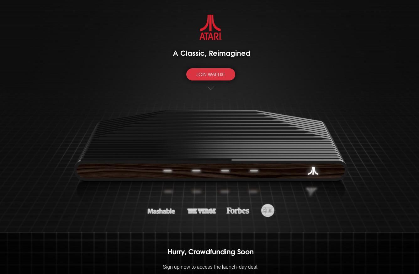 La Ataribox se esperaba estaría disponible esta semana para compras adelantadas, pero parece que de momento se retrasa