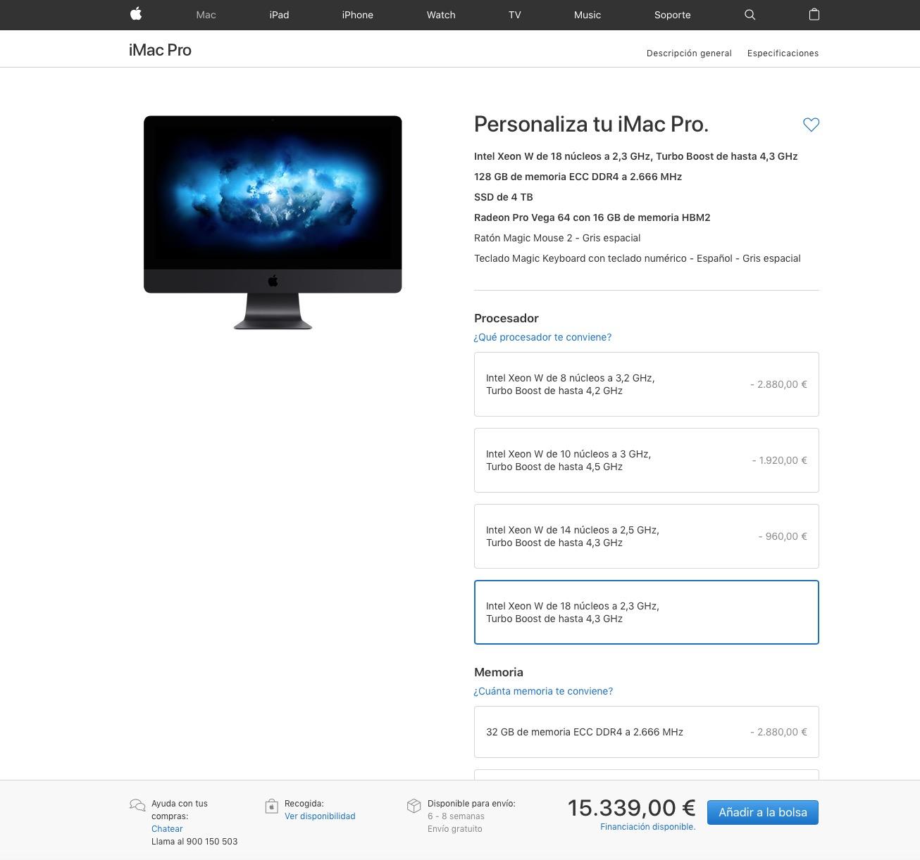 iMac Pro Tope