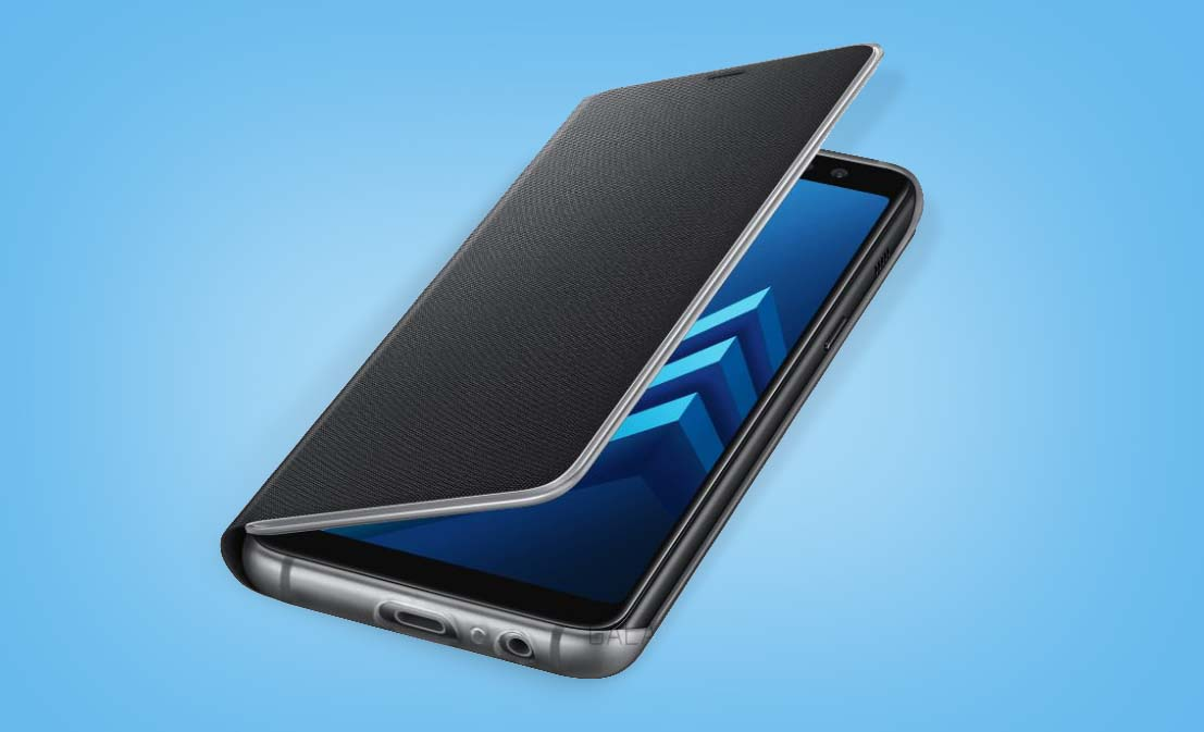 Esta podría ser la primera imagen oficial de los Galaxy A8 2018 que se anunciarán a primeros de enero