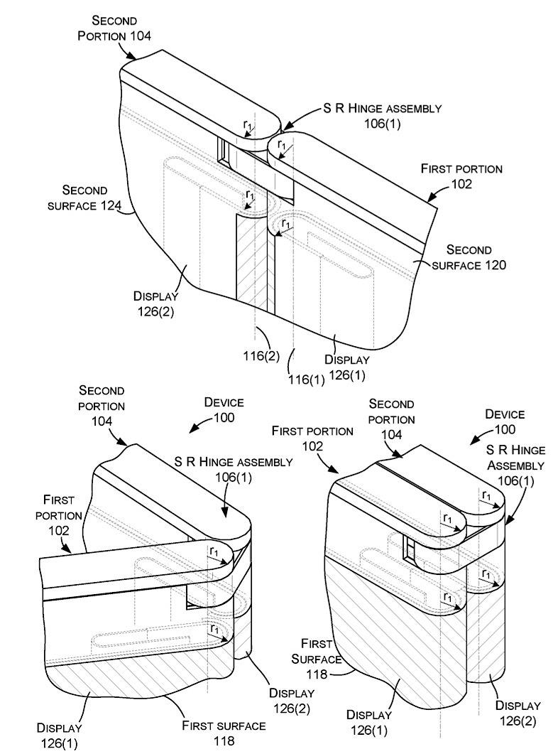 Así puede ser la mini Surface plegable de Microsoft