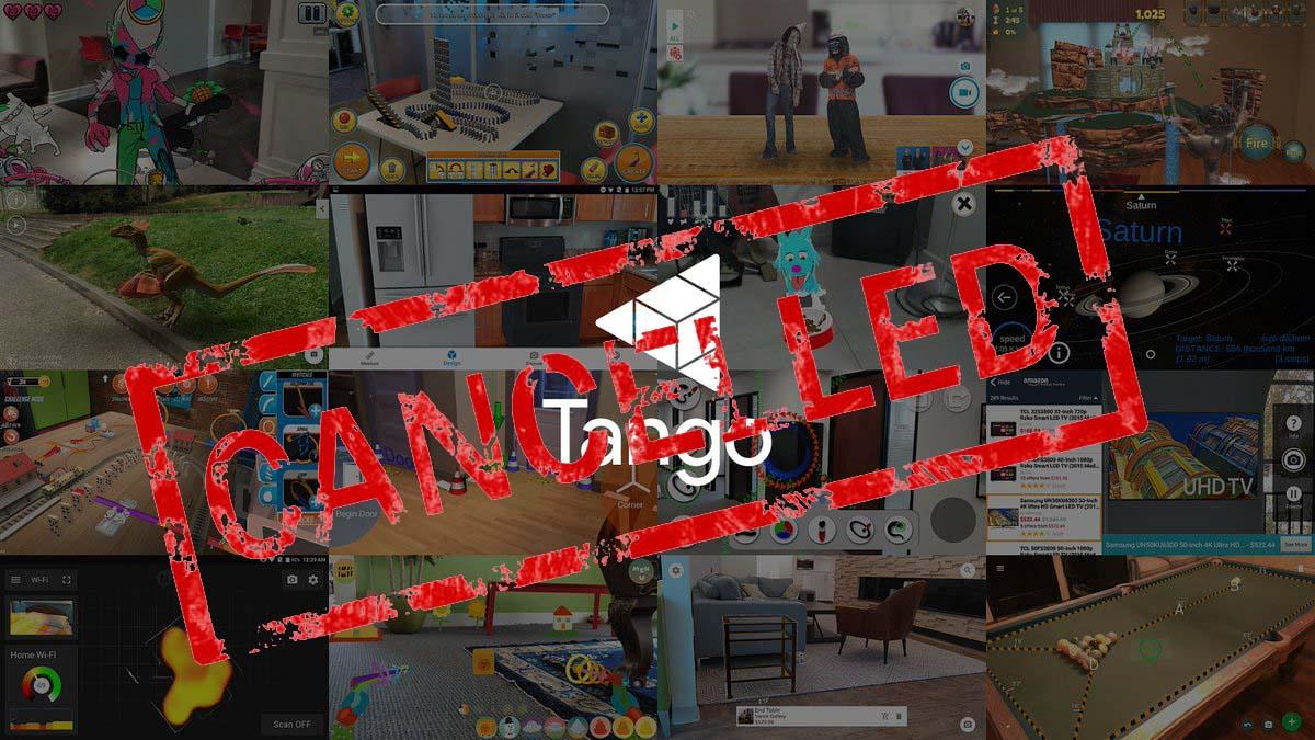 Google cancela la tecnología Tango en favor de la más nueva ARCore