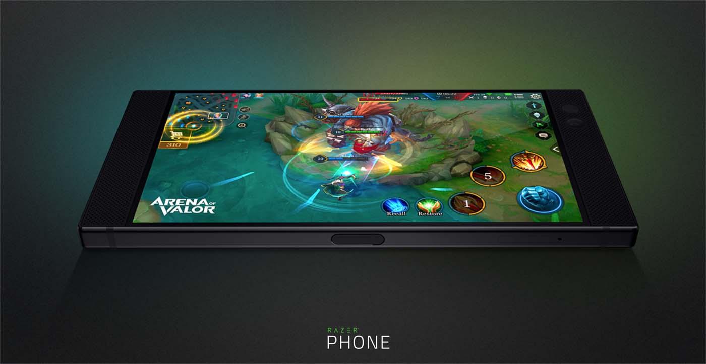 El súper teléfono para juegos Razer Phone ya está disponible en nuestro mercado a un precio de unos 750 euros