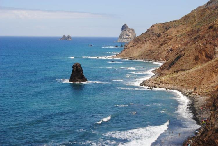 Playas canarias: Playa-de-Benijo-Tenerife