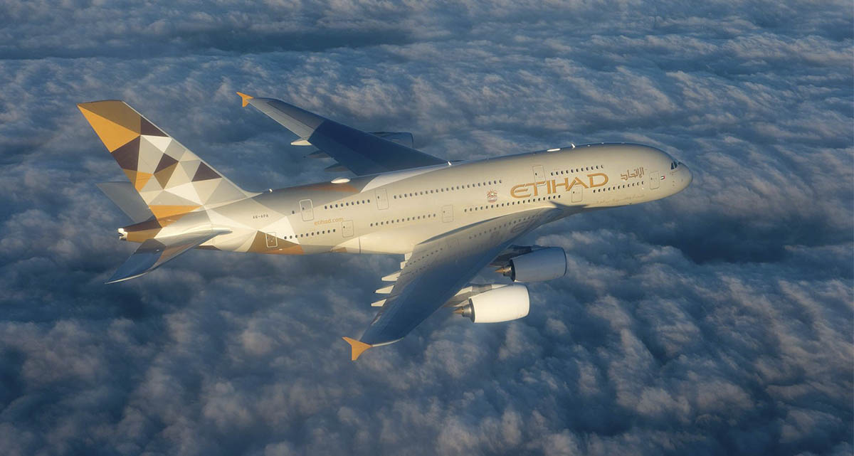 Vuela con un 40% de descuento con Etihad Airways