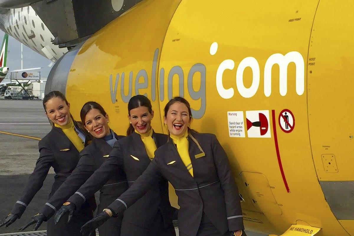 Quieres trabajar en Vueling –