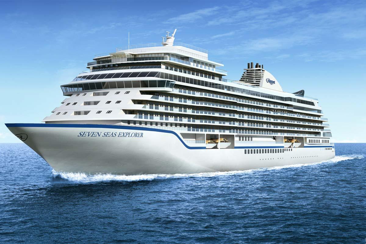 Seven Seas Explorer, el barco más lujoso del mundo