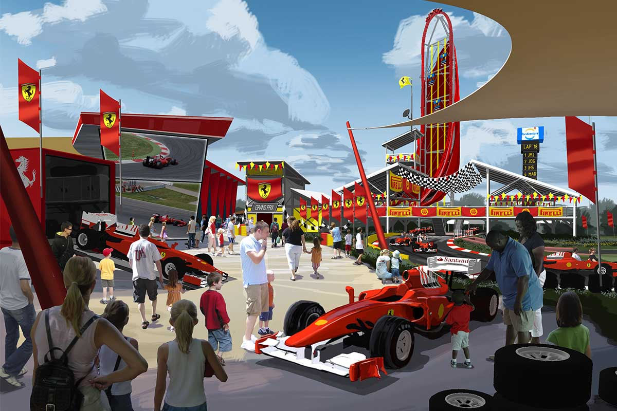 ¿Qué podemos esperar de Ferrari Land?