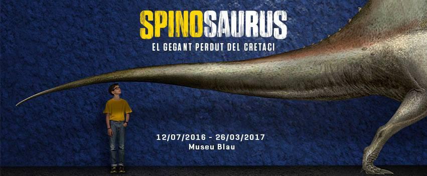 El Spinosaurus te espera en Barcelona