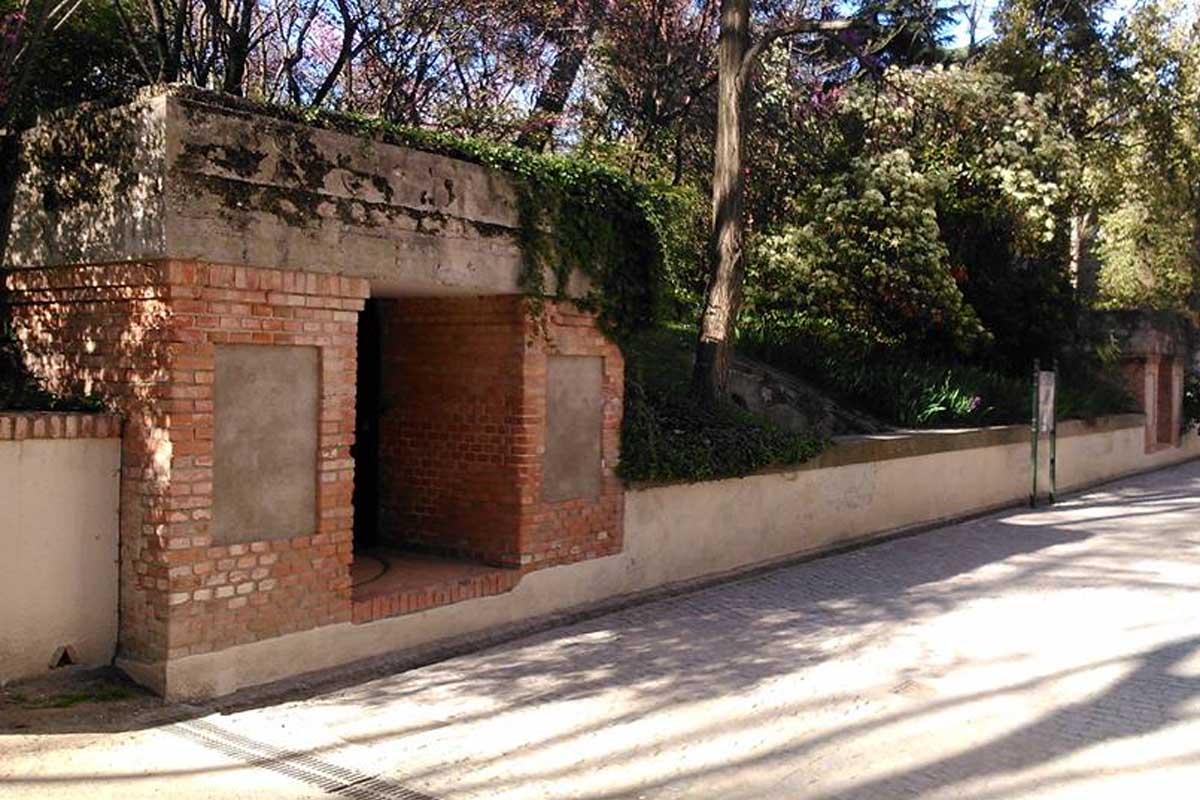 Descubre el búnker del Parque de El Capricho