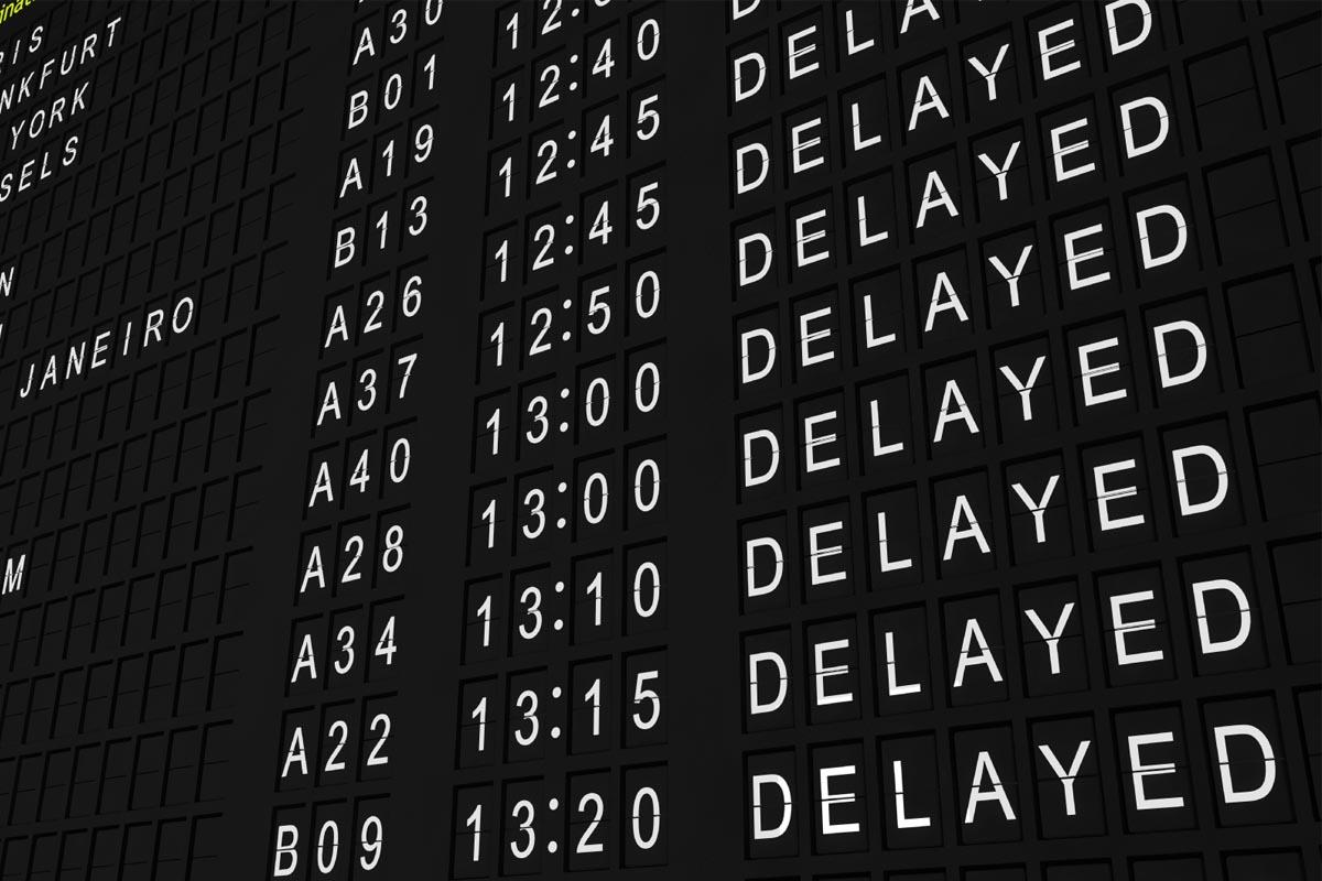 ¿Qué hacer mi vuelo sale con retraso?
