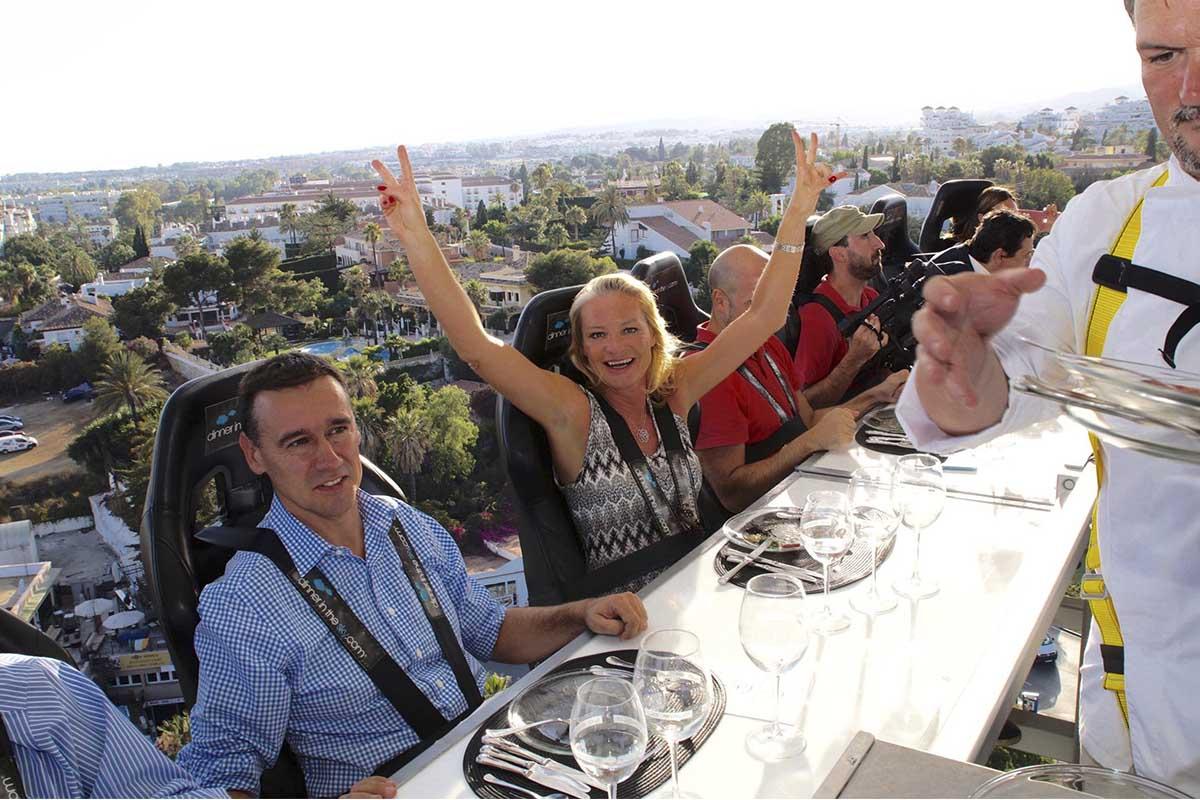 ¿Cenar a 50 metros de altura? Atrévete con La Sala in the Sky