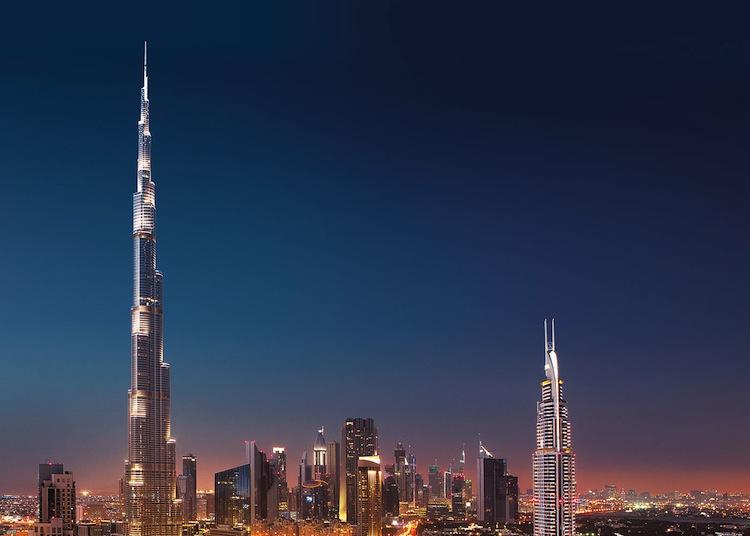 Edificios más altos. Burj Khalifa