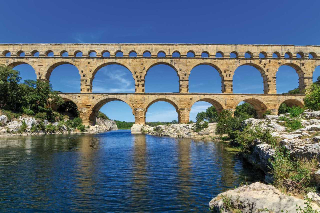 Acueducto de Pont du Gard