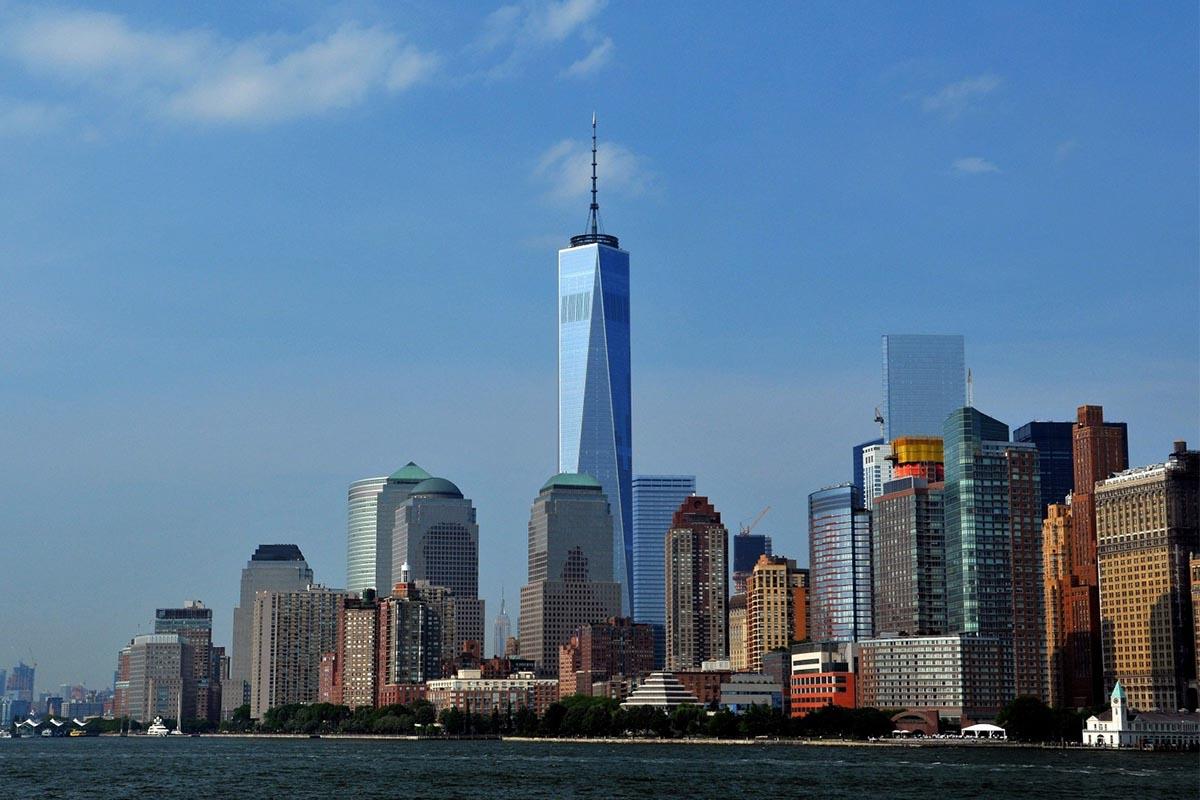 Nueva York desde lo más alto del One World Trade Center