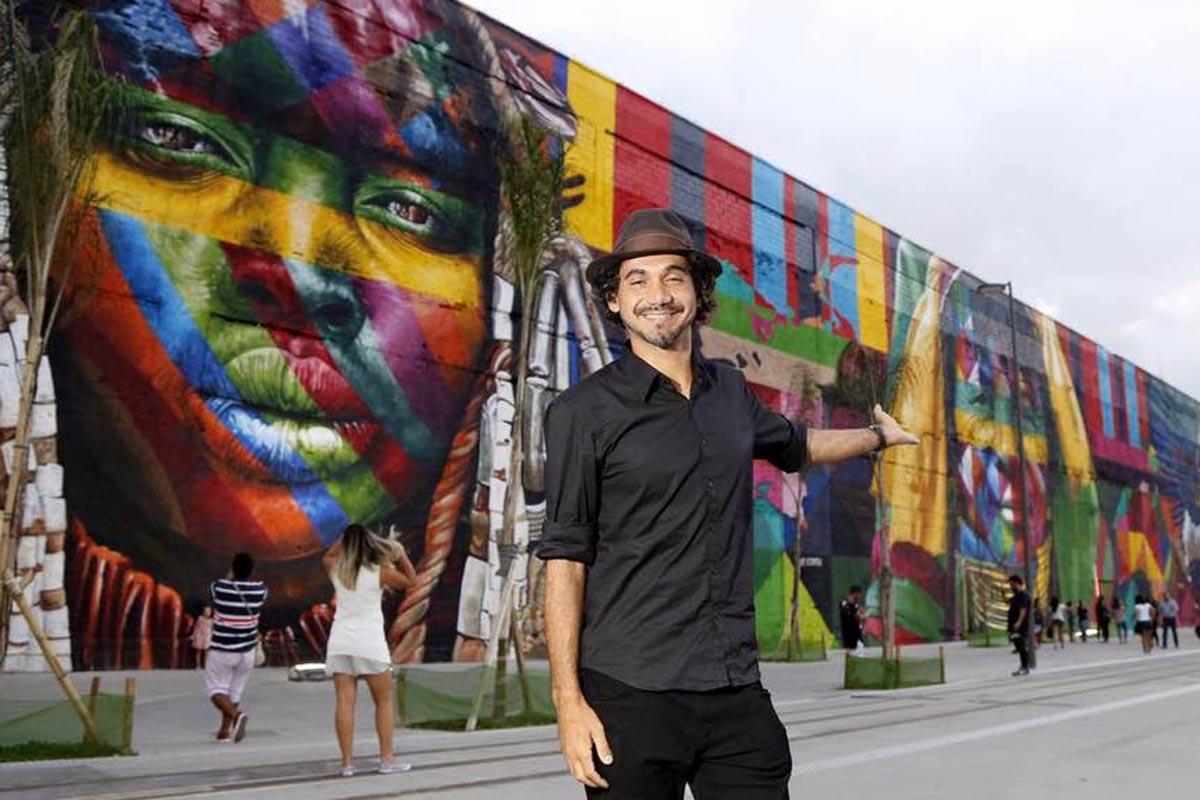 Río 2016 nos deja el mural de arte callejero más grande del mundo