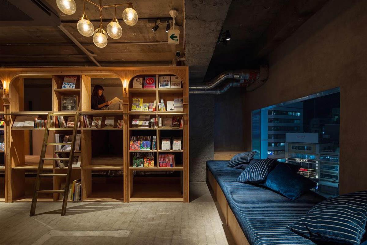 Book and Bed: El hotel para los amantes de los libros