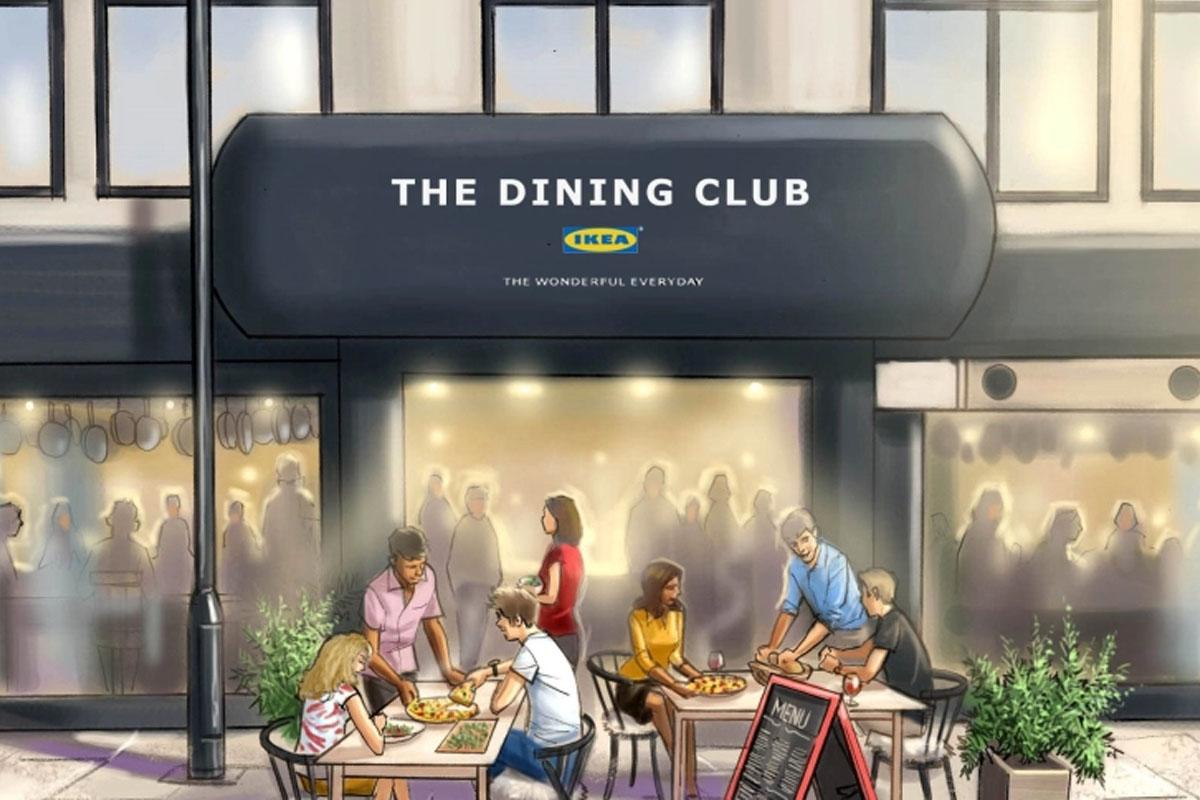 The Dining Club, el restaurante de Ikea en el que tú eres el chef