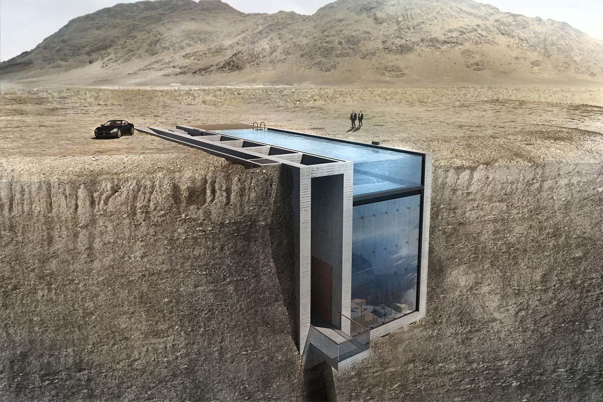 Casa Brutale: 'Hogar, dulce hogar' a 1.600 metros del suelo