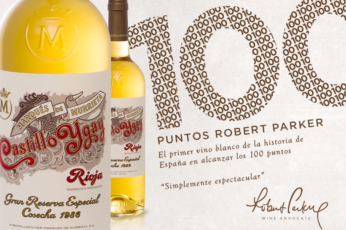 Un vino español recibe los deseados 100 puntos Parker