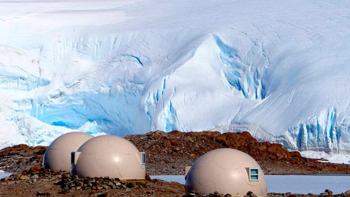 La moda del «Glamping» llega a La Antártida
