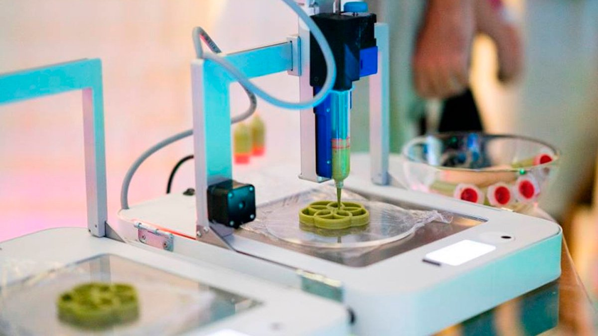 Food Ink: Una suculenta comida creada con una impresora 3D