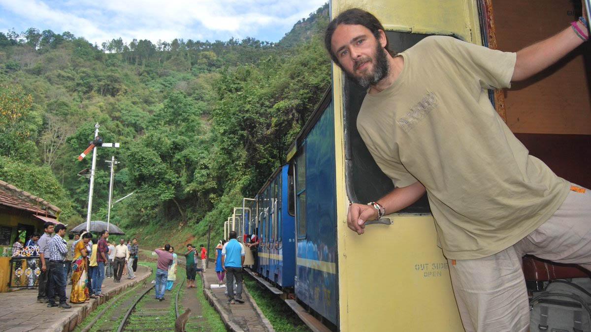 """""""Me llamo Ivan Gadea y quiero dar la vuelta al mundo en tren"""""""