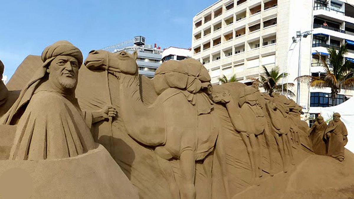Visita Gran Canaria y disfruta de este impresionante Belén de arena