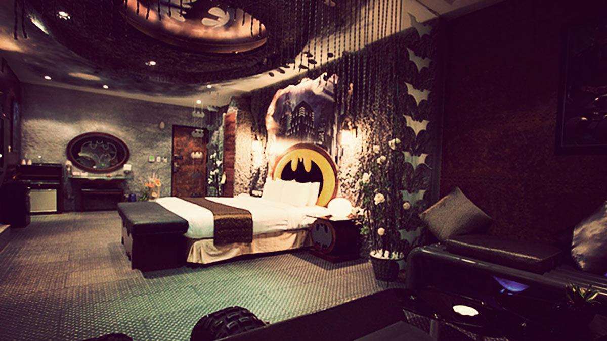 Si te gustan los comics, tienes que dormir en estos hoteles