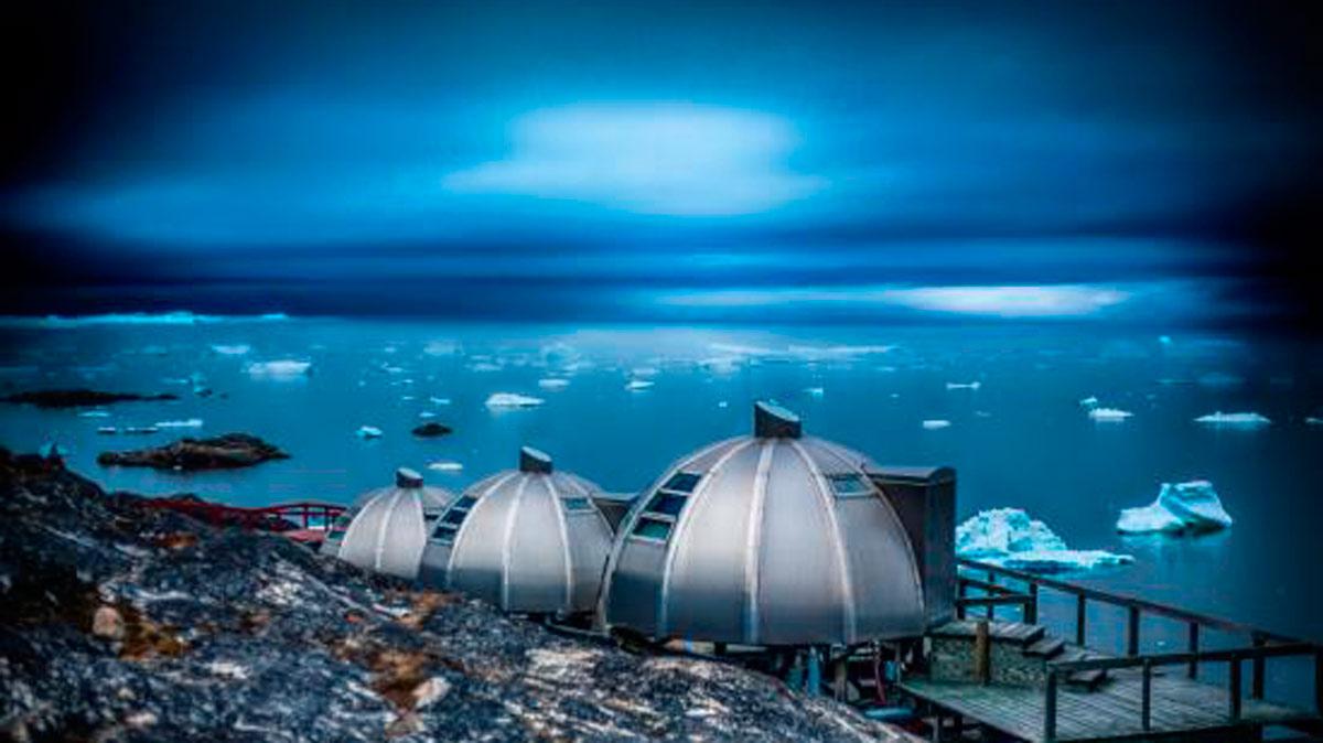 El iglú más lujoso que jamás habías visto