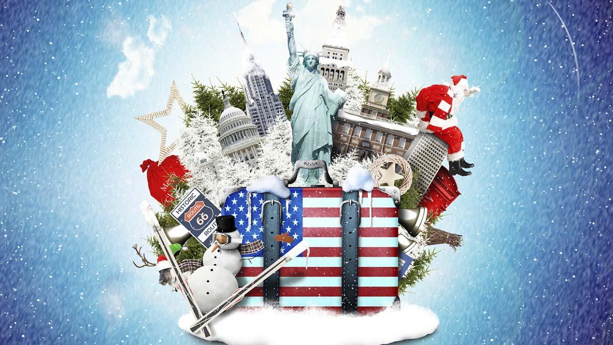 Fotos De La Navidad En Estados Unidos.Estados Unidos Y Espana Se Vive Igual La Navidad En Ambos