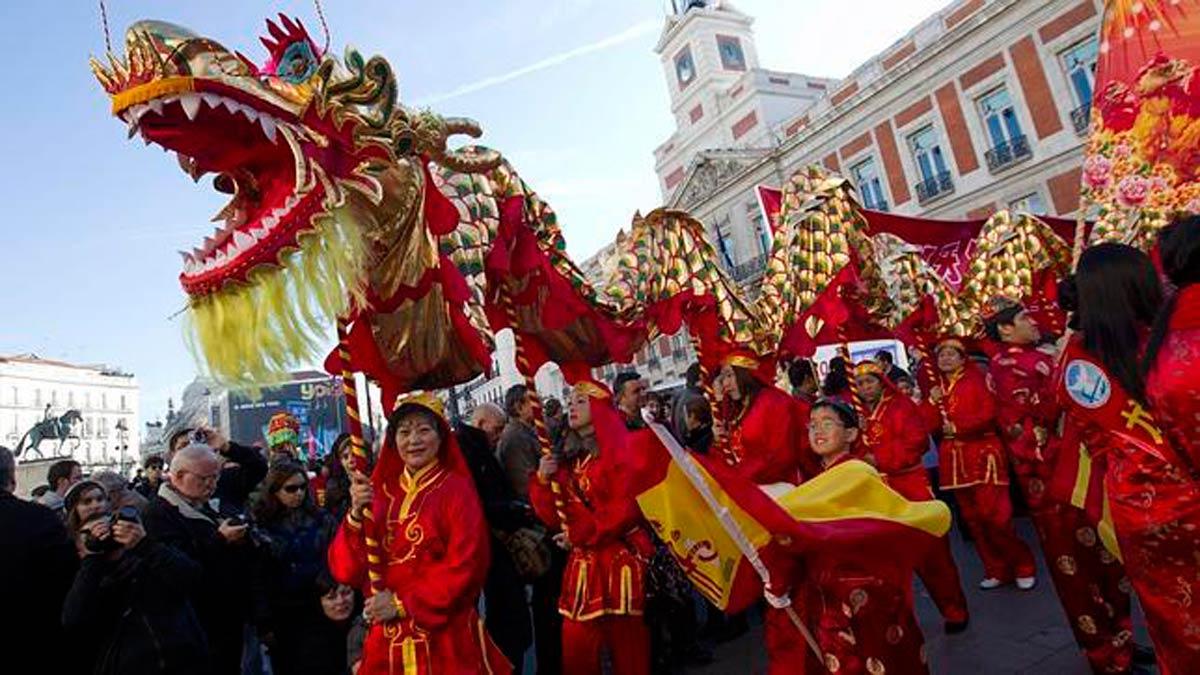 Calebra el Año Nuevo Chino más madrileño