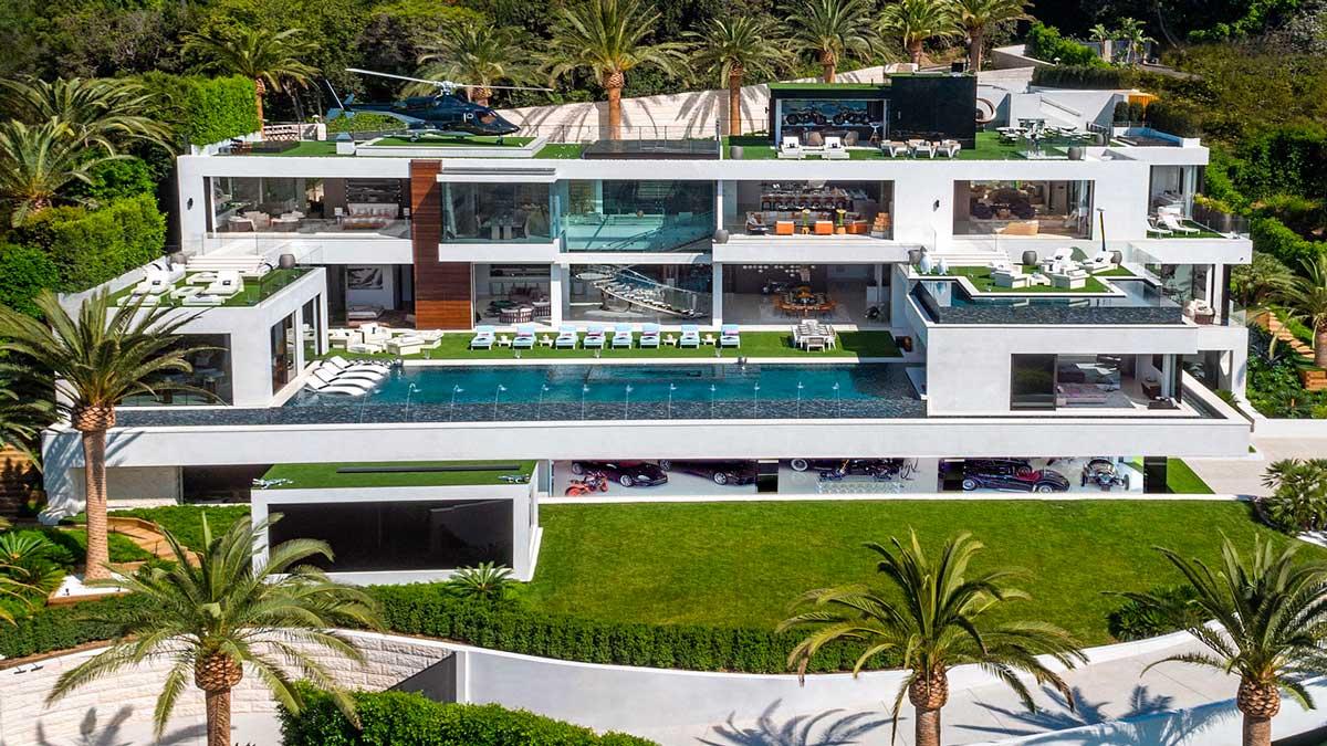 La mansión más cara jamás vendida de EE.UU