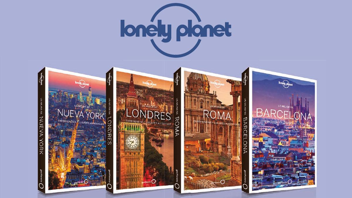 Lonely Planet renueva la imagen de sus guías