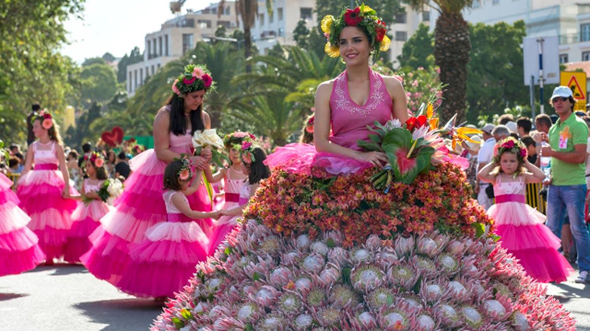 El color más intenso llega a Madeira con la Fiesta da Flor