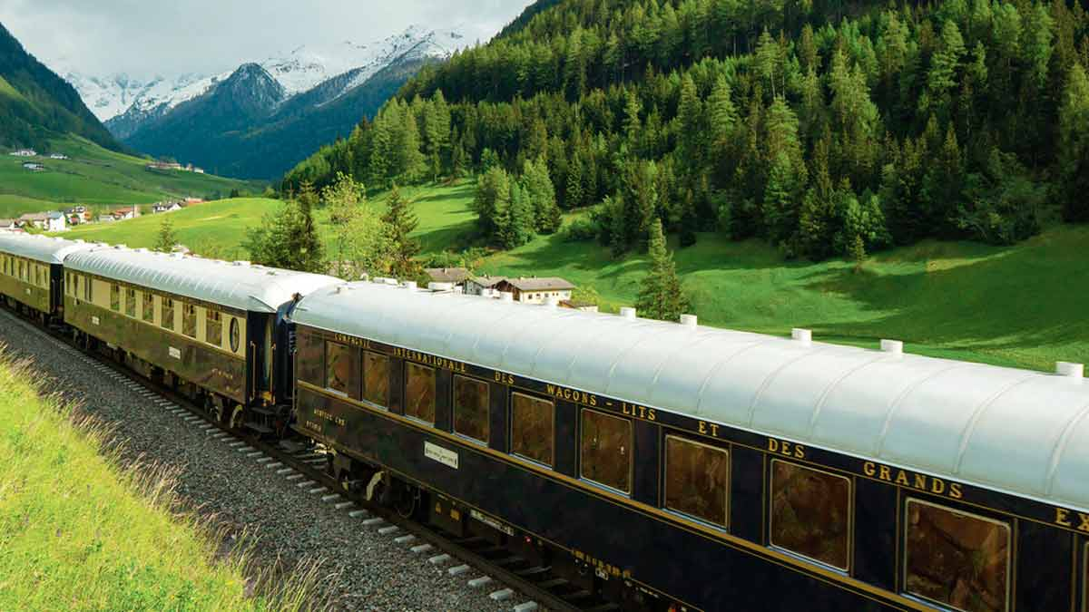 Orient Express, un restaurante sobre raíles