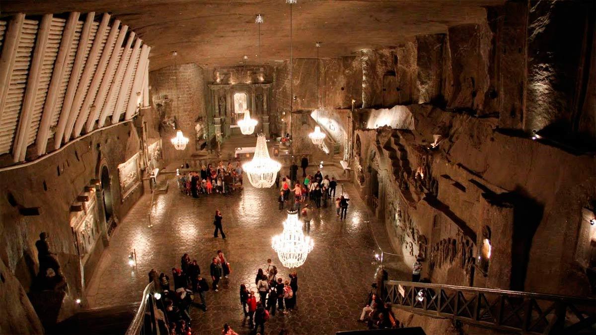 La espectacular mina de sal polaca que te dejará asombrado