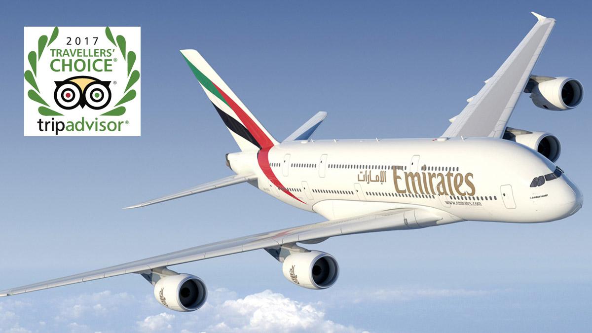 Travelers' Choice 2017: Y la mejor aerolínea del mundo es…