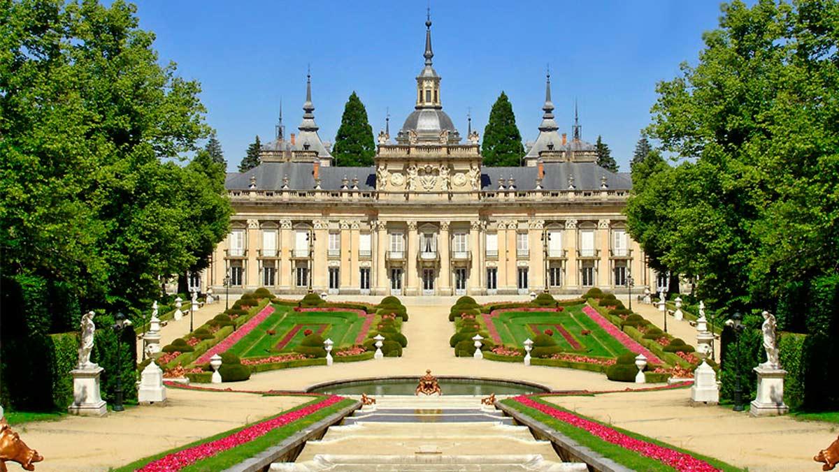 Resultado de imagen de Palacio Real de la Granja