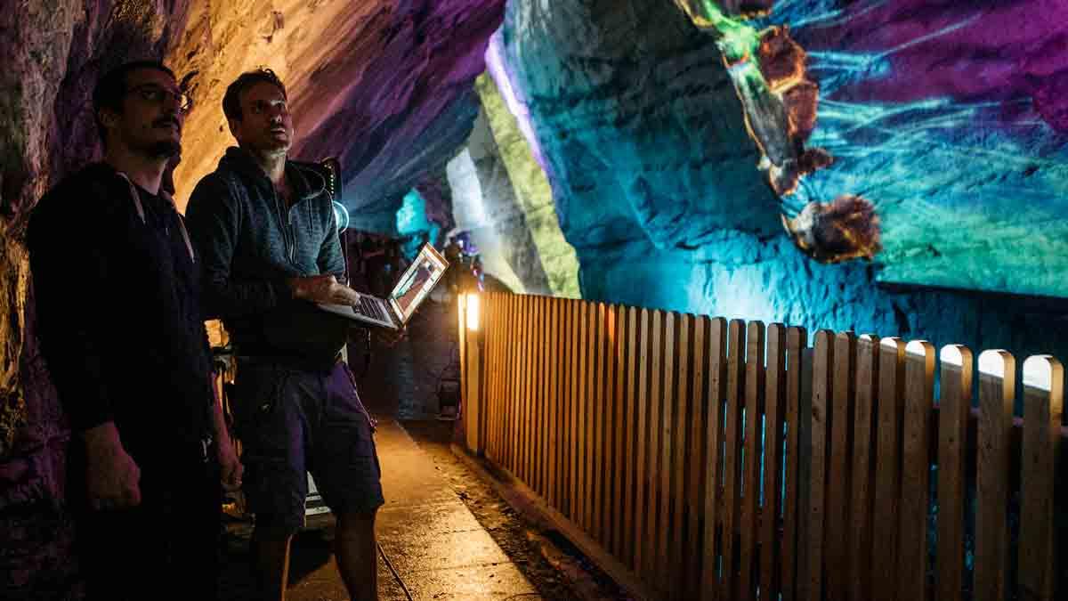 Light Ragaz, disfruta del fenómeno mapping bajo tierra