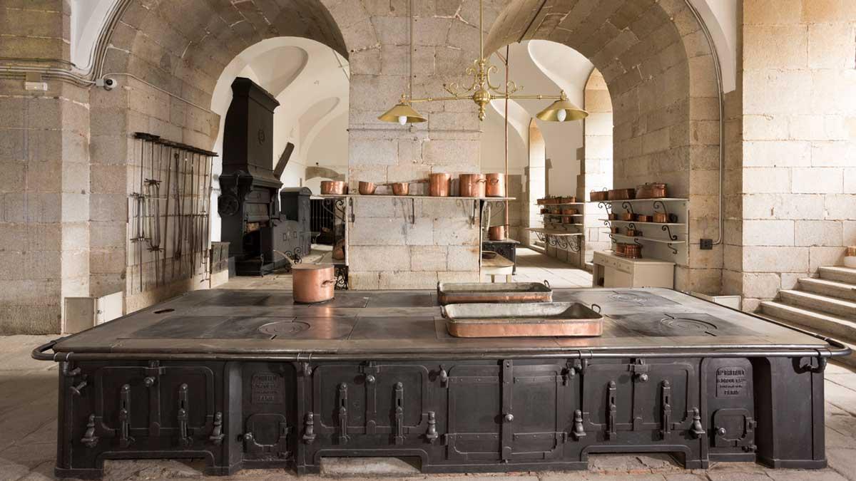 Las cocinas del Palacio Real abren sus puertas al público
