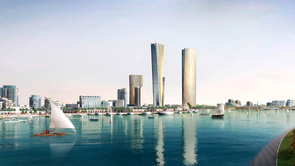 Lusail City, una de las ciudades del futuro más innovadoras