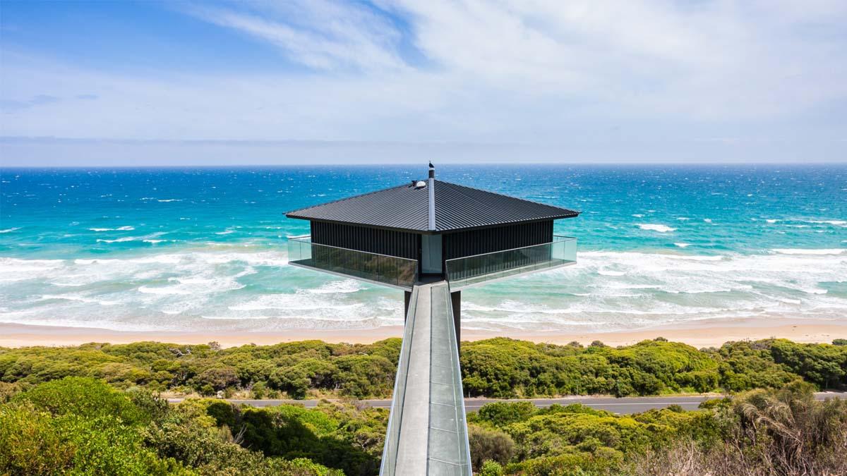 Estas casas suspendidas en el aire son sólo aptas para valientes. ¡Pero tienen unas vistas espectaculares!