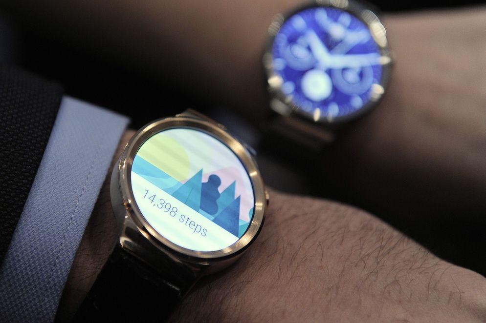Huawei Watch, un reloj inteligente para deportistas