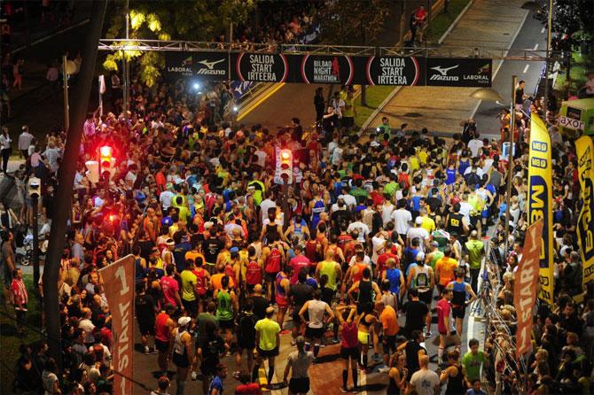 Arrastrarse Remontarse Filadelfia  Abiertas las inscripciones para el Maratón nocturno de Bilbao